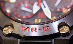 Gショック最上級ライン「MR-G」 強さの象徴のカラーを日本の伝統美で表現した「赤備え」モデルが店頭でご覧いただけます。