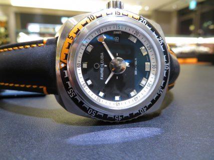 深海に耐え得る防水性の高さ。 ファーブルルーバから「レイダーディープブルー41mm」