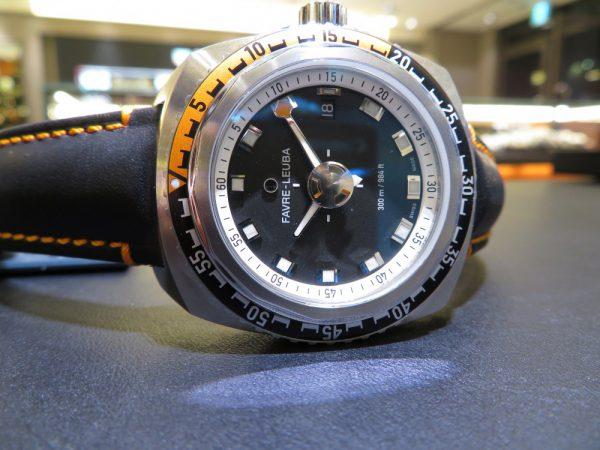 深海に耐え得る防水性の高さ。 ファーブルルーバから「レイダーディープブルー41mm」-FAVRE-LEUBA -IMG_0081-600x450