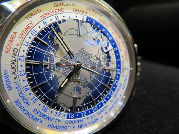 本日はジャガー・ルクルトから24タイムゾーンを同時表示するトラベルウォッチ「ジオフィジック・ユニバーサルタイム」をご紹介!-Jaeger-LeCoultre -IMG_0550-600x450