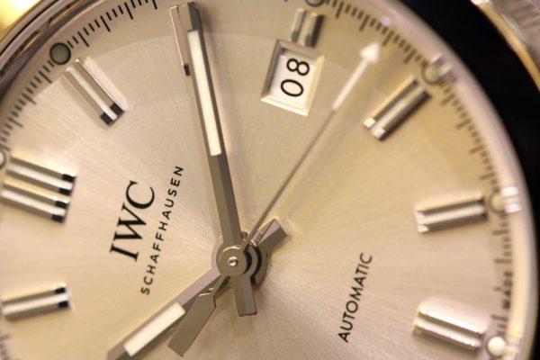IWC シンプルな「インヂュニア・オートマチック」。-IWC -IMG_5694-600x400