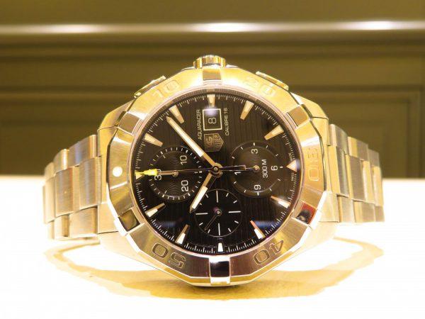 どこでも使えるタフな時計!タグホイヤー「アクアレーサー キャリバー16 クロノグラフ」-TAG Heuer -IMG_0112-600x450