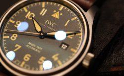 IWC ミリタリーテイスト溢れる「パイロット・ウォッチ・マーク XVIII ヘリテージ」。