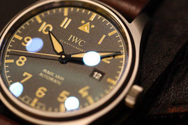 IWC ミリタリーテイスト溢れる「パイロット・ウォッチ・マーク XVIII ヘリテージ」。-IWC -IMG_5806-600x400