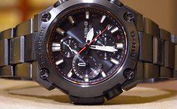 Gショック最高峰「MR-G」、黒の威厳を小ぶりのミッドサイズで表現したモデル「MRG-B1000B-1AJR」