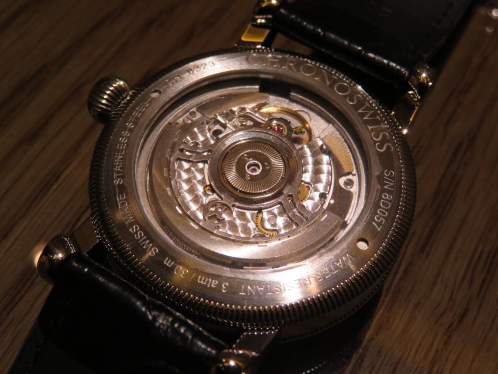 時刻をデジタル表示するユニークダイアル! クロノスイス「シリウス  フライング・レギュレーター・ジャンピングアワー」CH-8323-SISI-CHRONOSWISS -IMG_0811