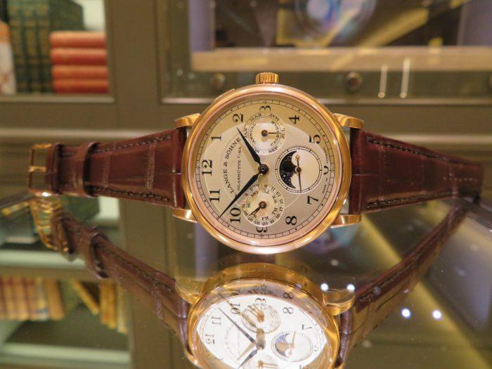 """A.ランゲ&ゾーネより、古典的な懐中時計の趣を組み合わせたモデル""""1815 アニュアルカレンダー""""-A.LANGE&SÖHNE -IMG_0878-700x525"""
