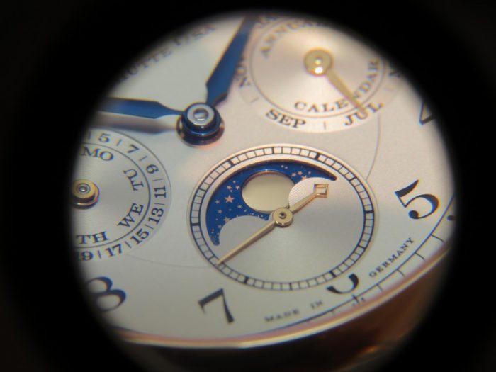 """A.ランゲ&ゾーネより、古典的な懐中時計の趣を組み合わせたモデル""""1815 アニュアルカレンダー""""-A.LANGE&SÖHNE -IMG_0882-700x525"""