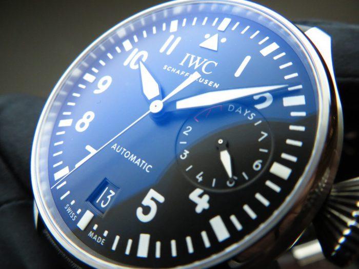 IWC 男らしい大きなブラックダイヤル、ビッグ・パイロット・ウォッチ!-IWC -IMG_1017-700x525