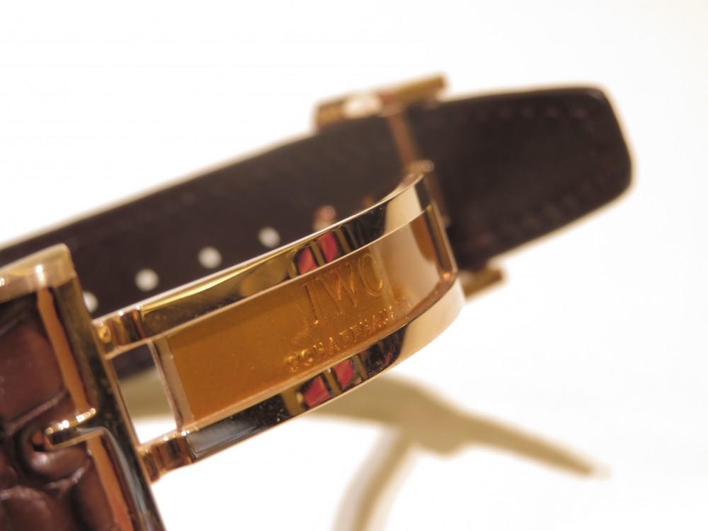 上品な温かみのあるレッドゴールドの輝き。IWCポルトギーゼ・オートマティック-IWC -IMG_1507