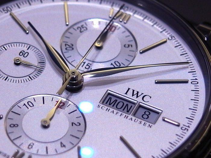 IWC エレガンスなドレスウォッチ!ポートフィノ・クロノグラフ-IWC お知らせ -R1164867-700x525