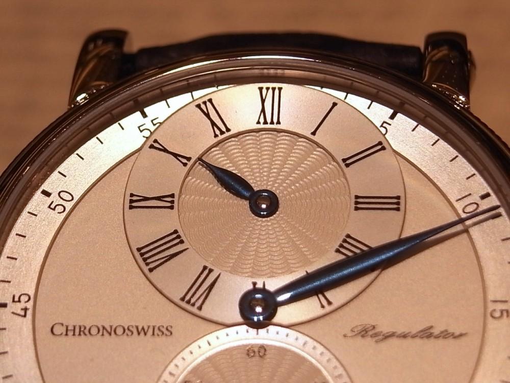 クロノスイス ブルースチールの針が美しい「シリウス レギュレーター クラシック」。-CHRONOSWISS -R1169388
