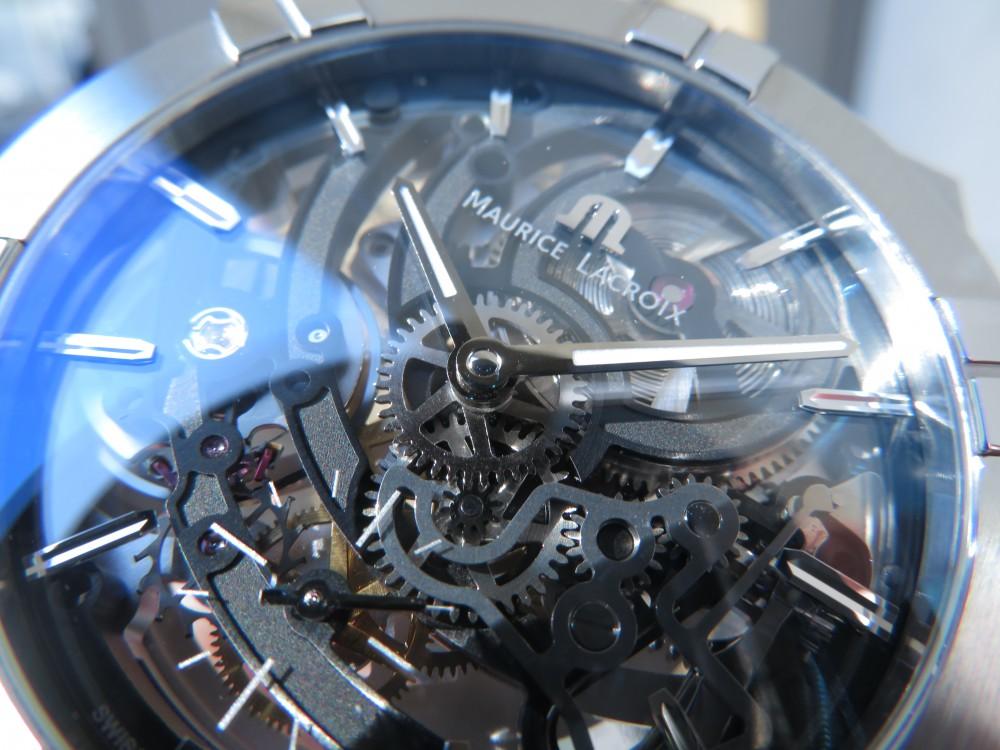 """モーリス・ラクロア フェア開催中!""""アイコン オートマティック スケルトン""""期間限定で展示しています!-MAURICE LACROIX -IMG_1626"""
