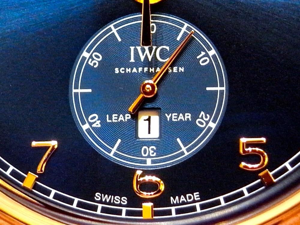 IWC ハイエンドな永久カレンダー搭載の限定250本の「ポルトギーゼ・パーペチュアル・カレンダー・デジタル・デイト/マンス」-IWC -R1163076