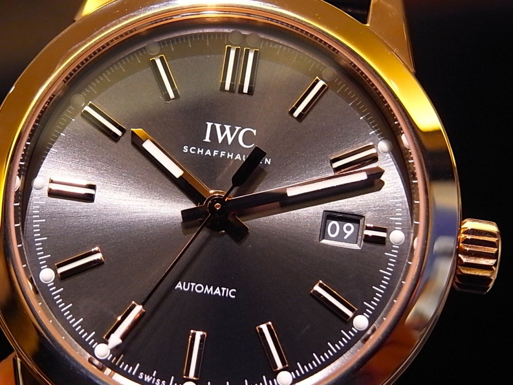 IWC スレートグレー文字盤が渋い!インヂュニア・オートマチック-IWC -R1168961