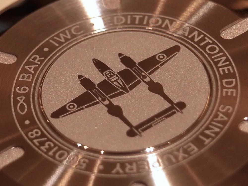 """タバコブラウンカラーの文字盤がすてき!「パイロット・ウォッチ・マーク XVIII """"アントワーヌ・ド・サンテグジュペリ""""」-IWC -R1169039"""