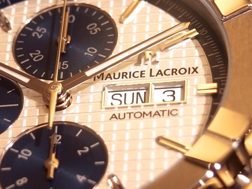 モーリスラクロア コストパフォーマンスだけではない魅力が満載!「アイコン オートマチック クロノグラフ」-MAURICE LACROIX -R1169579