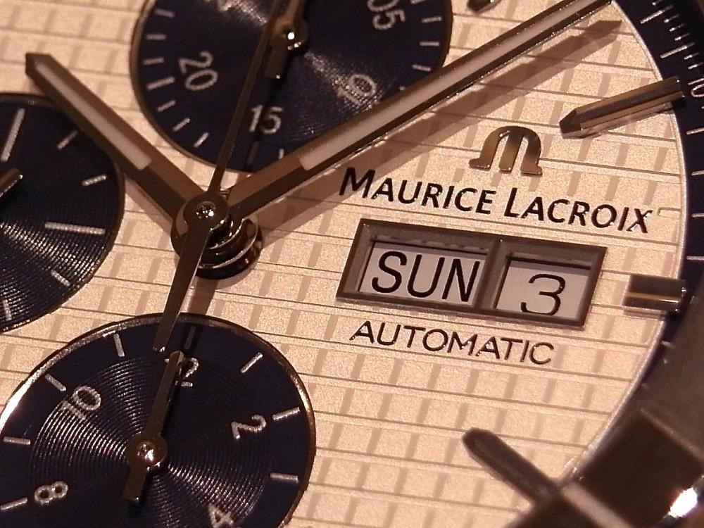 モーリスラクロア コストパフォーマンスだけではない魅力が満載!「アイコン オートマチック クロノグラフ」-MAURICE LACROIX -R1169595