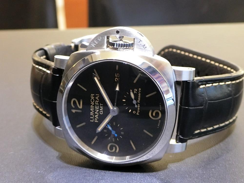 ルミノール 1950 3デイズ GMT パワーリザーブ オートマティック アッチャイオ 44mm(PAM01321)~パネライ~-PANERAI -CIMG0329