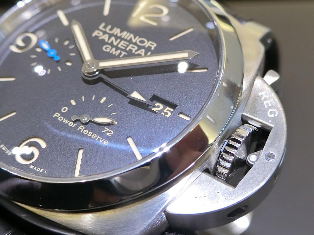 ルミノール 1950 3デイズ GMT パワーリザーブ オートマティック アッチャイオ 44mm(PAM01321)~パネライ~-PANERAI -CIMG0333