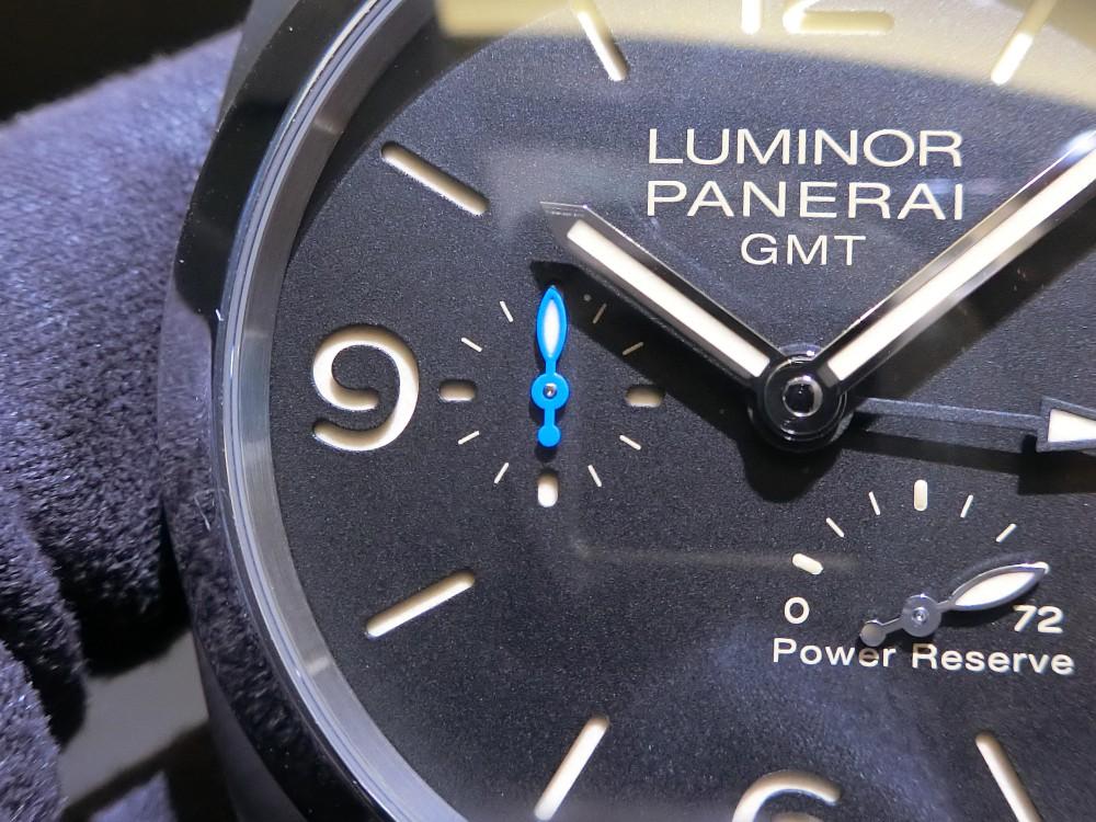 ルミノール 1950 3デイズ GMT パワーリザーブ オートマティック アッチャイオ 44mm(PAM01321)~パネライ~-PANERAI -CIMG0342