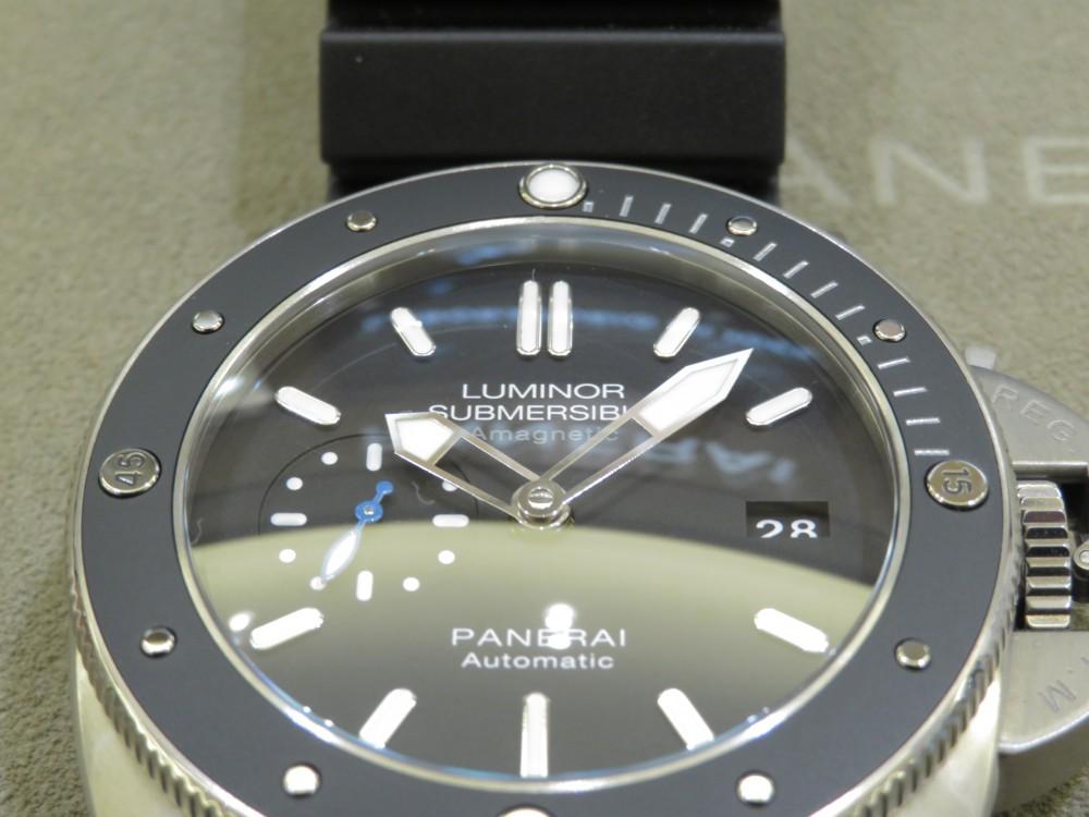 PANERAIで初めて耐磁性を求めたモデル。PAM01389-PANERAI -IMG_0716