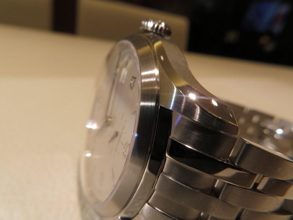 ボーム&メルシエ モダンでスポーティーなスタイル際立つ「クリフトン オートマティック」をご紹介。-BAUME&MERCIER -IMG_0832