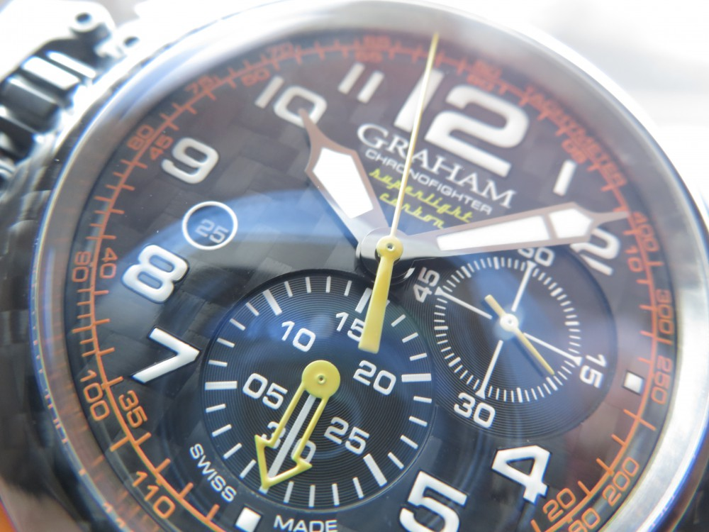 遊び心を忘れない時計。グラハムから「クロノファイター スーパーライトカーボン」をご紹介。-GRAHAM -IMG_1238