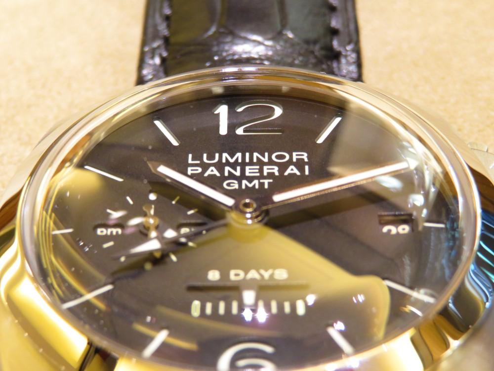 パネライが好きな方、パネライをいつか欲しいと憧れている方に持ってもらいたい!ルミノール1950 8デイズ GMT PAM00233-PANERAI -IMG_1360