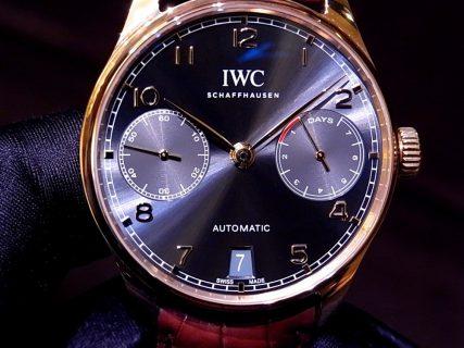 IWC 上品なレッドゴールドケースが素敵な「ポルトギーゼ・オートマチック」