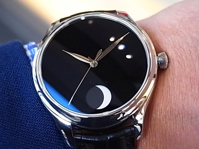 世界で最も黒い「ベンタブラック」文字盤の時計 H.モーザー 限定50本-H.Moser&Cie. -R1169249