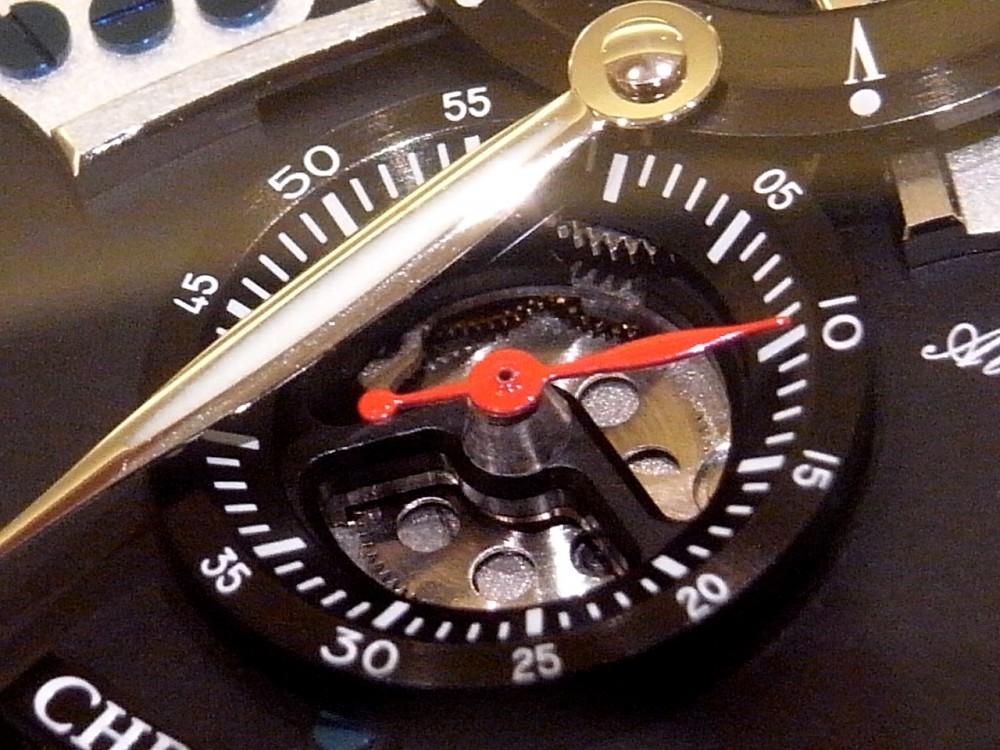 3次元スタイルのダイアルとスケルトン装飾で仕上げたモデル! クロノスイス「フライング・レギュレーター オープンギア」CH-8753-BKBK-CHRONOSWISS -R1169816