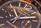 クロノグラフ搭載のパネライ 「ルミノール 1950 レガッタ 3デイズ クロノ フライバック オートマティック チタニオ PAM00526」