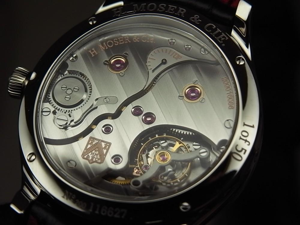 世界で最も黒い「ベンタブラック」文字盤の時計 H.モーザー 限定50本-H.Moser&Cie. -R1169927