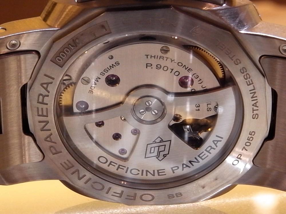 パネライコレクション開催中! ブレスレットが爽やかな 「ルミノール マリーナ 1950 3デイズ オートマティック アッチャイオ」-PANERAI -R1170005