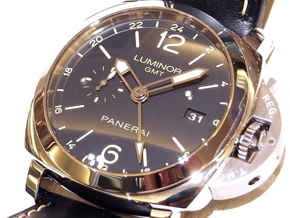 パネライ 旅行用に特別にデザインされた「ルミノール 1950 3デイズ GMT 24H オートマティック アッチャイオ PAM00531」-PANERAI -R1170034