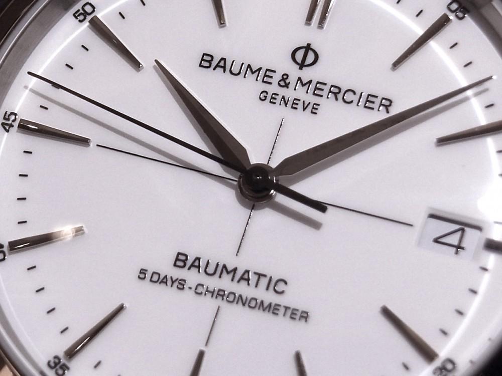 ボーム & メルシエ  性能だけではない、ビジネスでも活躍!「クリフトン ボーマティック COSC」-BAUME&MERCIER -R1170110