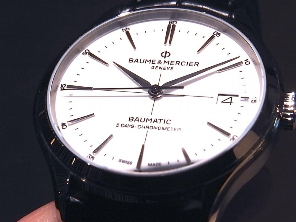 ボーム & メルシエ  性能だけではない、ビジネスでも活躍!「クリフトン ボーマティック COSC」-BAUME&MERCIER -R1170122