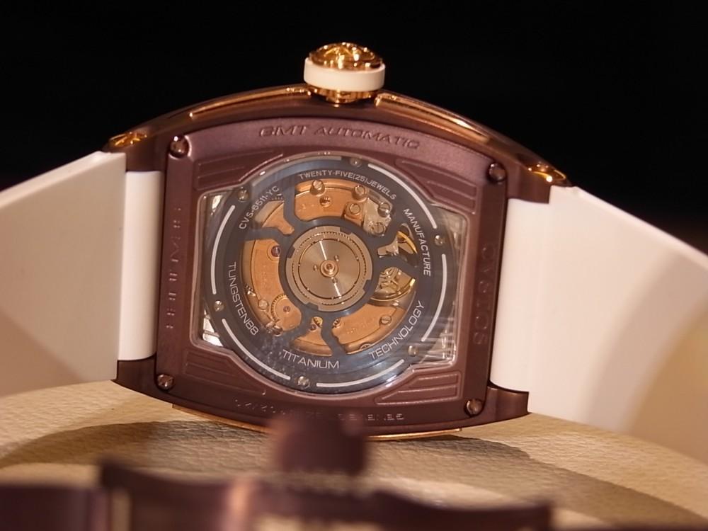クストス ブラウンPVDケースがお洒落!限定20本の「チャレンジ シーライナー GMT」-CVSTOS -R1170230