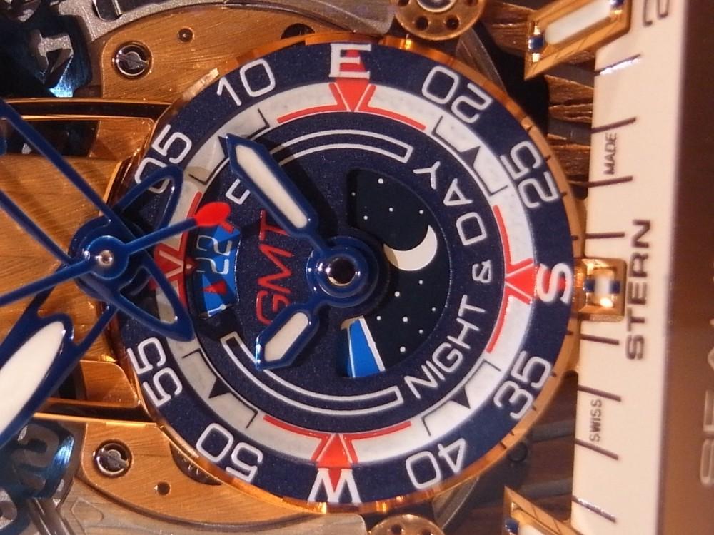 クストス ブラウンPVDケースがお洒落!限定20本の「チャレンジ シーライナー GMT」-CVSTOS -R1170238