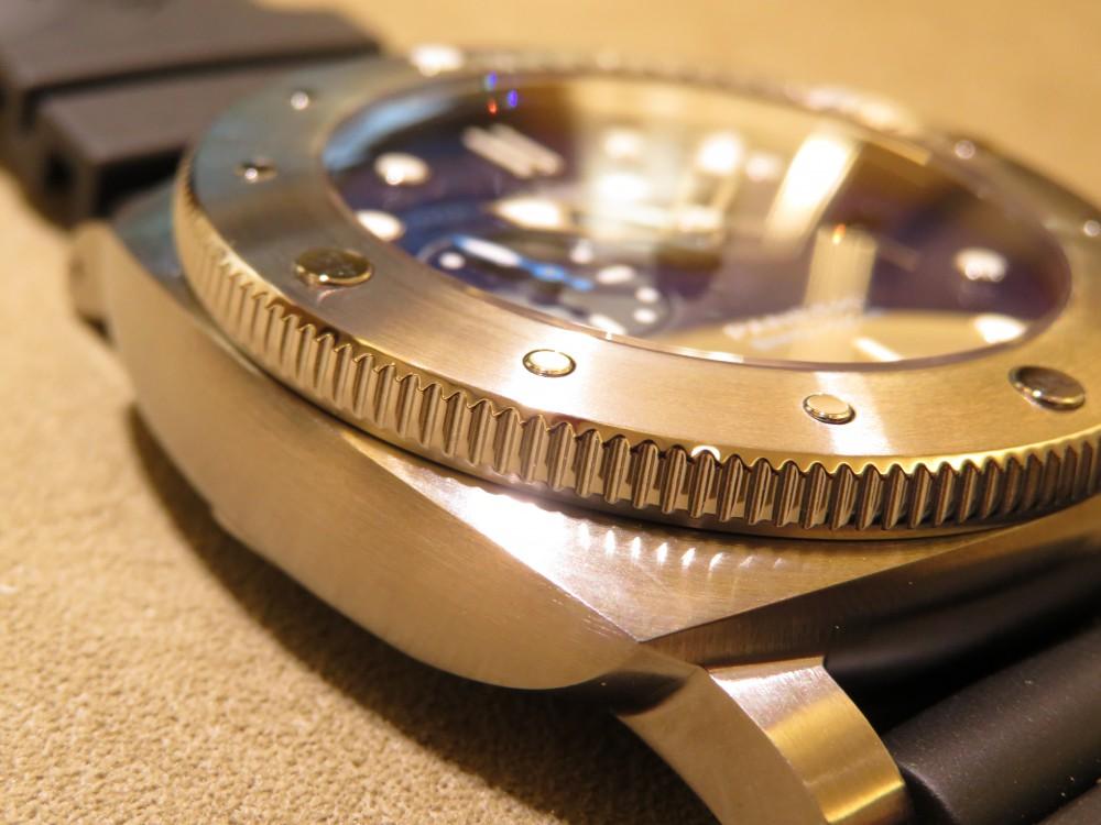 平成最後の時計にパネライが開発した新素材を採用したモデルはいかがですか?ルミノールサブマーシブル 1950 BMG-TECH™ 3デイズ オートマティック PAM00692-PANERAI -IMG_0279