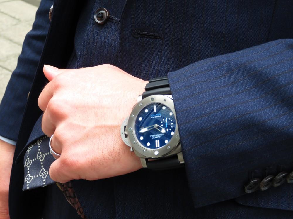 平成最後の時計にパネライが開発した新素材を採用したモデルはいかがですか?ルミノールサブマーシブル 1950 BMG-TECH™ 3デイズ オートマティック PAM00692-PANERAI -IMG_0288