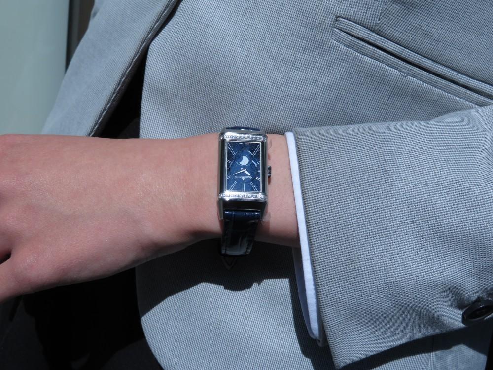 女性の為の機械式時計にはジャガールクルトがおすすめ! レベルソ・ワン・デュエット・ムーン-Jaeger-LeCoultre -IMG_1808