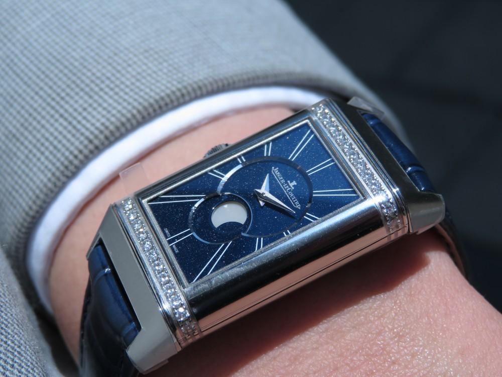 女性の為の機械式時計にはジャガールクルトがおすすめ! レベルソ・ワン・デュエット・ムーン-Jaeger-LeCoultre -IMG_1811