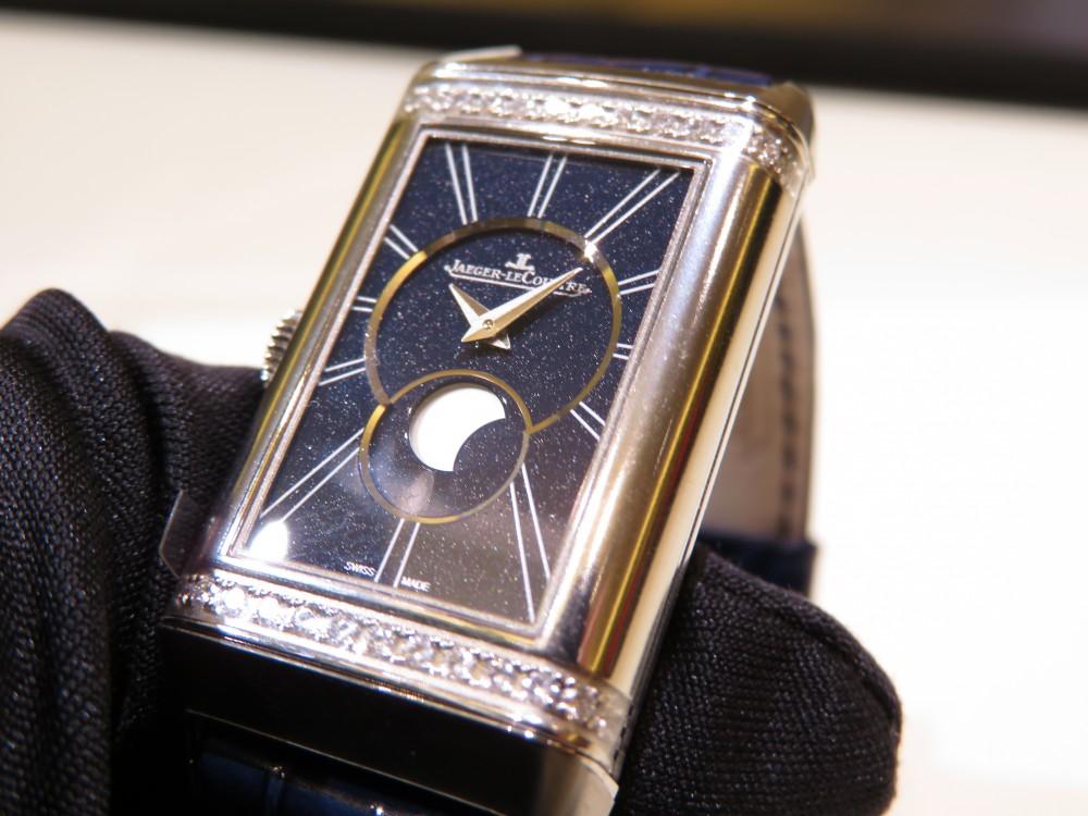 女性の為の機械式時計にはジャガールクルトがおすすめ! レベルソ・ワン・デュエット・ムーン-Jaeger-LeCoultre -IMG_1824