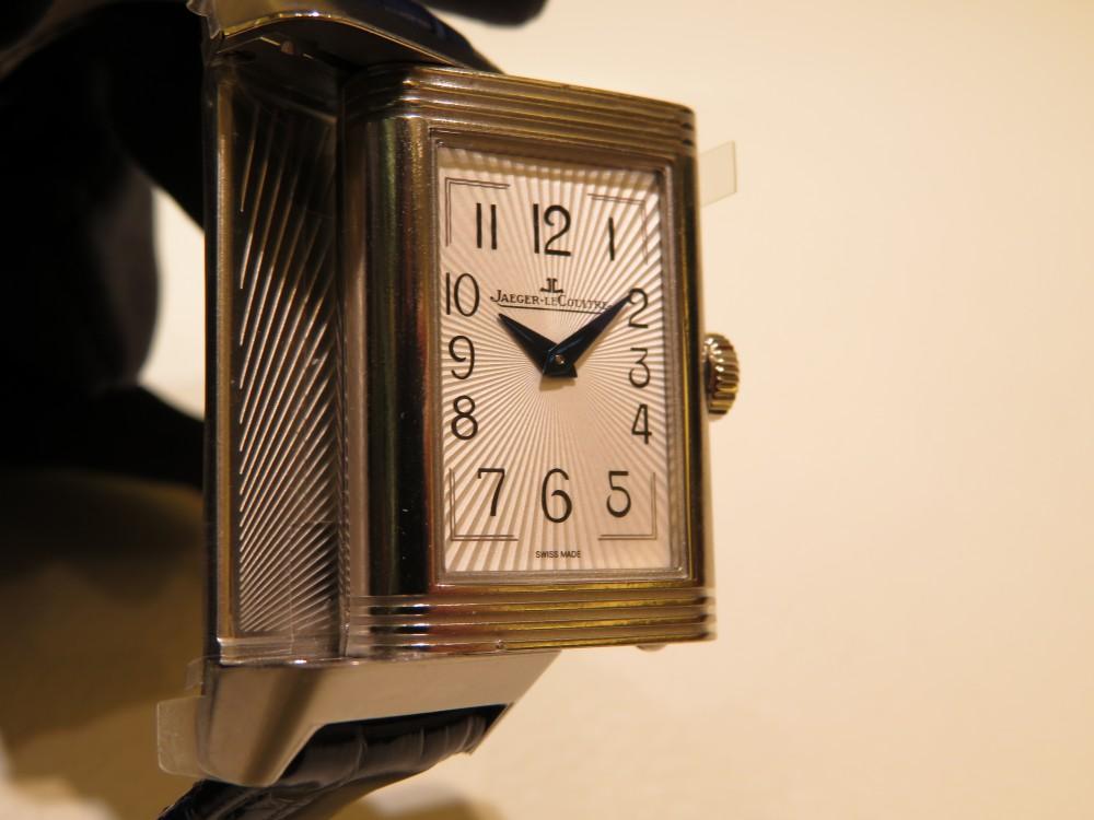 女性の為の機械式時計にはジャガールクルトがおすすめ! レベルソ・ワン・デュエット・ムーン-Jaeger-LeCoultre -IMG_1828