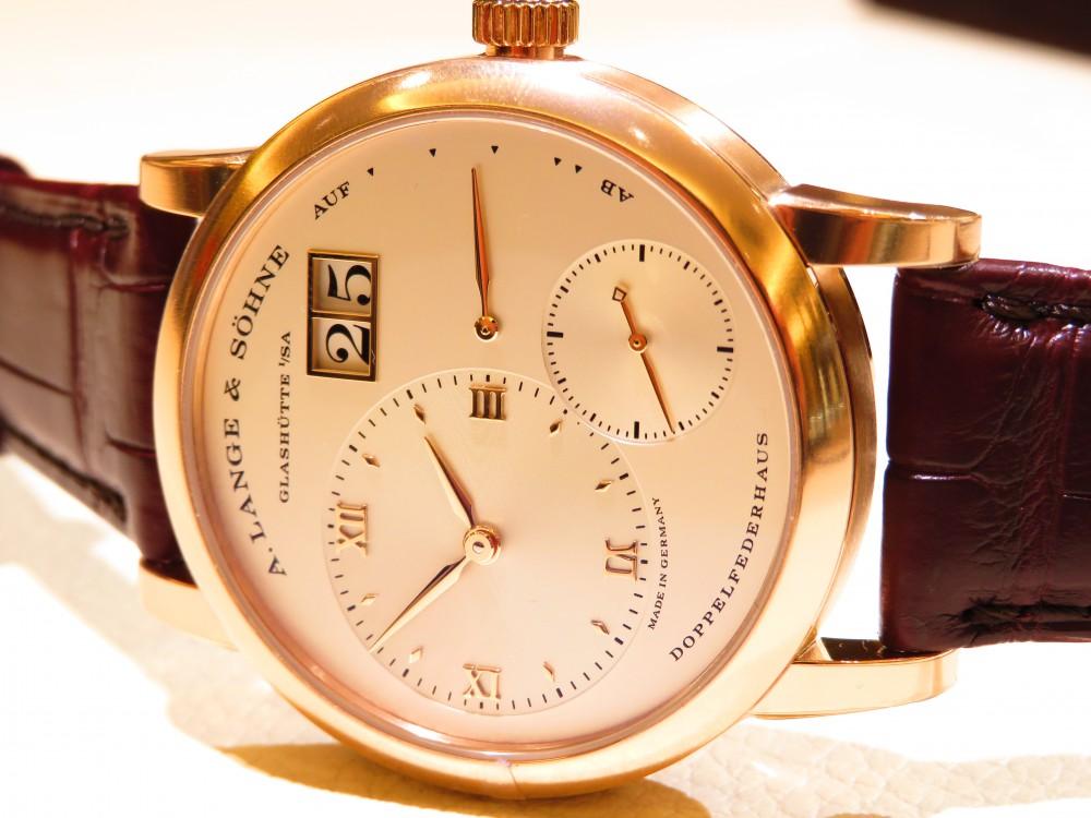 伝統ある職人の技と、機械式時計の最先端技術を結び付ける「A.ランゲ&ゾーネ」の真骨頂 ランゲ1-A.LANGE&SÖHNE -IMG_1863