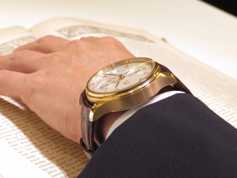 憧れの金無垢時計を腕にしてみませんか?IWC ポルトギーゼ・クロノグラフ・クラシック-IWC -IMG_1995