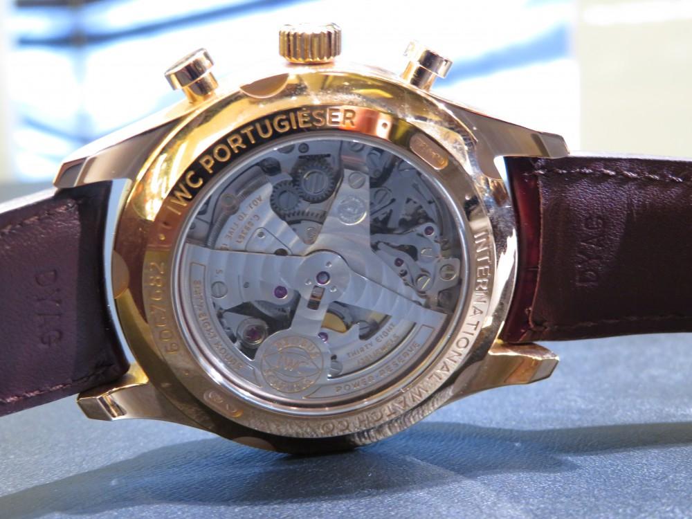 憧れの金無垢時計を腕にしてみませんか?IWC ポルトギーゼ・クロノグラフ・クラシック-IWC -IMG_2001