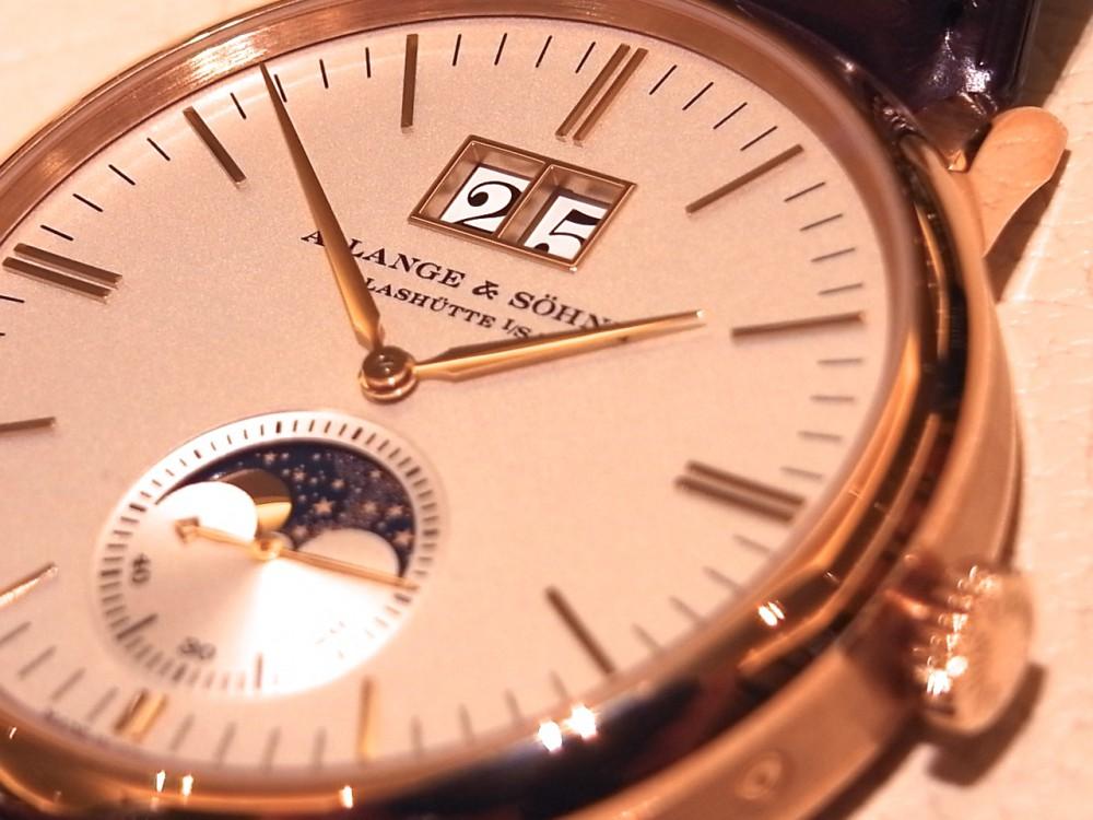 ドイツ時計の最高峰「A.ランゲ&ゾーネ」からサクソニア・ムーンフェイズ-A.LANGE&SÖHNE -R1170269